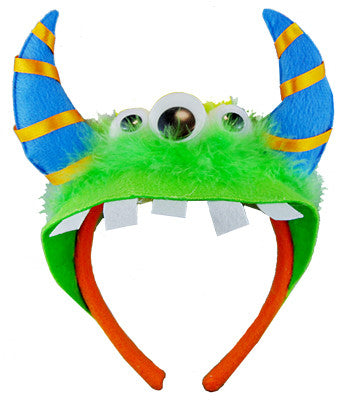 Monster Headband Green