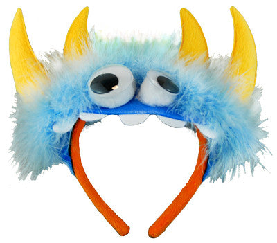 Monster Headband Blue