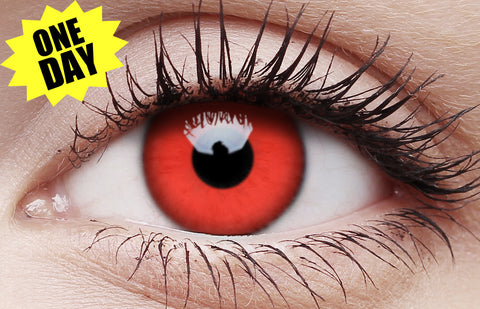 Crazy One-Day Contact Lens Red Devil