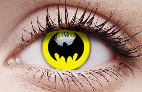 Crazy Lens Contacts Bat Crusader