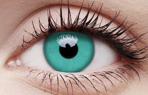 Crazy Lens Contacts Emerald Green