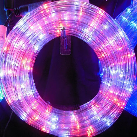 10m 36V LED Connect Rope White/Red