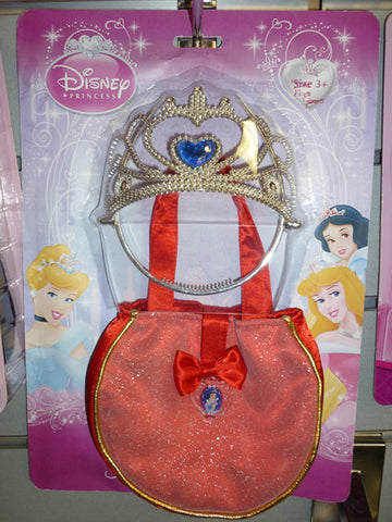 SNOW WHITE HANDBAG & TIARA