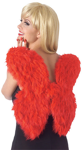 FEATHER WINGS - RED