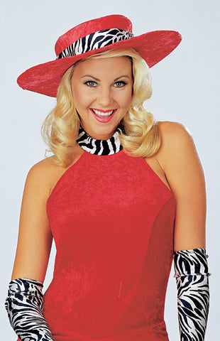 ADULT RED HOT MAMA HAT