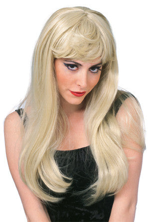 GLAMOUR wig, faceware - BLONDE
