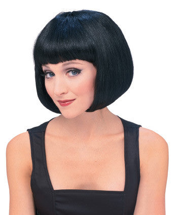 SUPERMODEL wig, faceware - BLACK