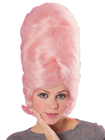 BEEHIVE wig, faceware - PINK