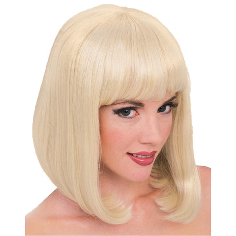 PEGGY SUE wig, faceware - BLONDE