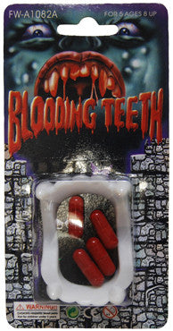 Blood Capsules n Teeth