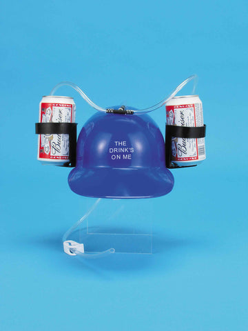 DRINKING HELMET - BLUE