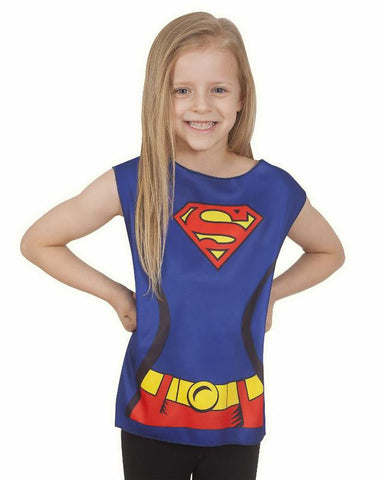 SUPERGIRL DC COMICS PARTY TIME - SIZE 3-6