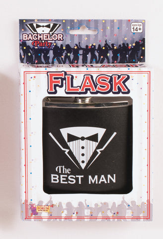BACHELOR - BEST MAN FLASK