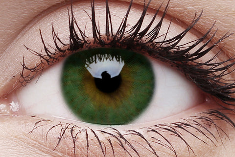 Basics Colour Contacts Green