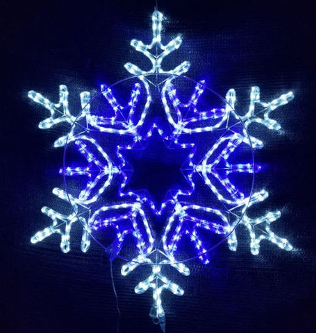 80cm 8 Point Snowflake