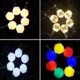 34L LED 10m Party Lighting Lights Warm White Colour Connectable