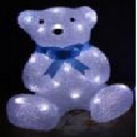 27cm Baby Bear Sitting 40L LED