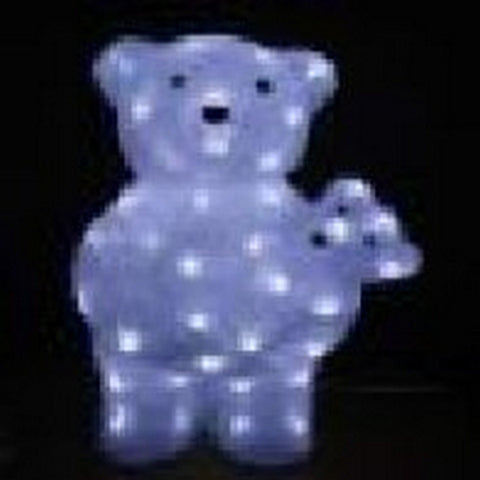 44cm Bear with Baby LED