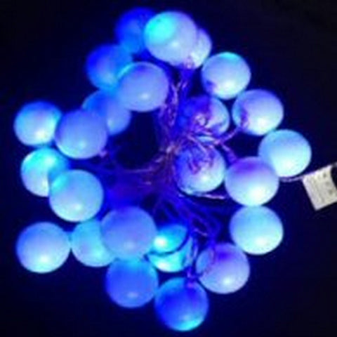 144L 15m LED Conn Ball GW Blue