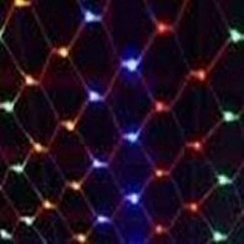 200L 2.5x2.5m LED Conn Net CW Multi