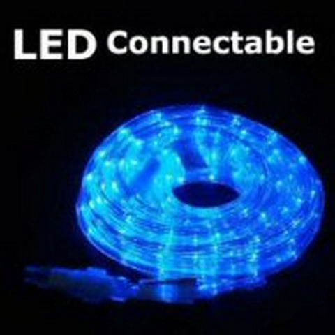10m 36V LED Connect Rope Blue