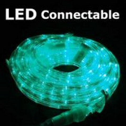 10m 36V LED Connect Rope Green