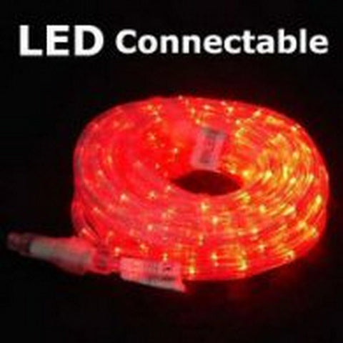 10m 36V LED Connect Rope Red