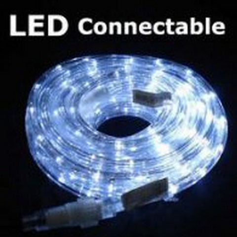 10m 36V LED Connect Rope White
