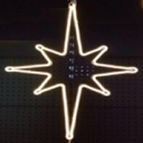 NEON 3m North Star 80x55cm W