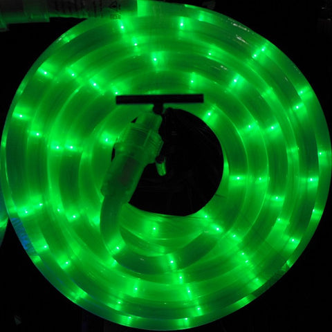 10m 36V LED Frosted Connect Rope Green