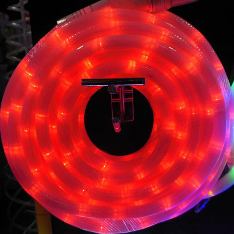 10m 36V LED Frosted Connect Rope Red
