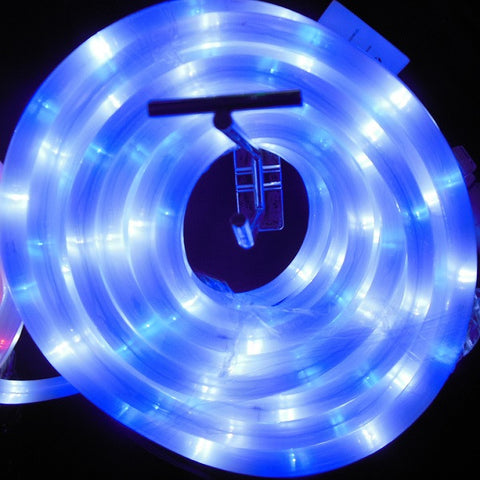 10m 36V LED Frosted Connect Rope Blue/White