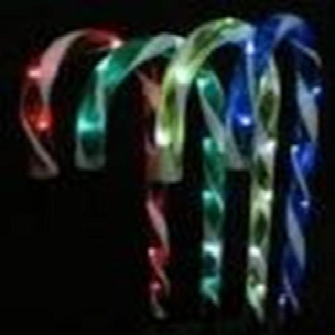 Solar Candy Cane 4 Pack 35cm