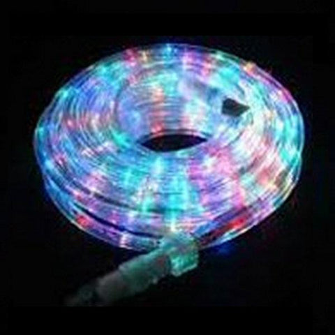 10m Solar Rope Light Multi