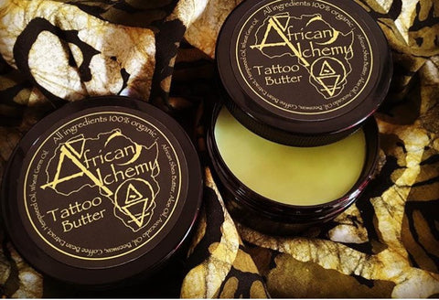 African Alchemy Tattoo Glide and Aftercare