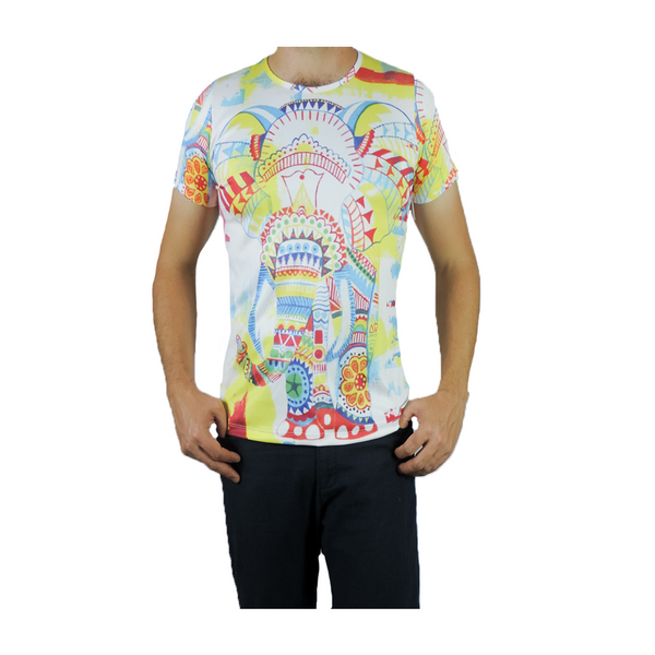 Ganesha by Daniela Duarte - Artistic T-shirt for Men