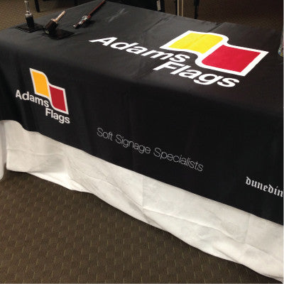 Branded Table Cloths and other Soft Signage