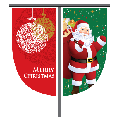 Christmas Street Banners - Adams Flags ebe8d60677af