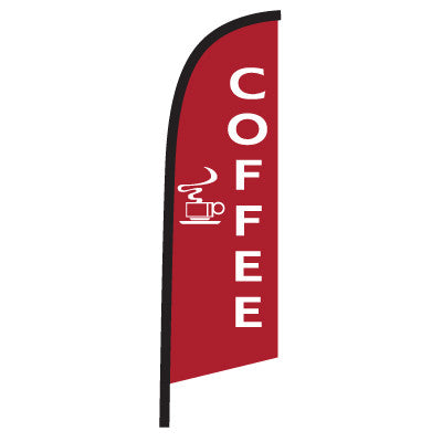 Coffee Windblade Flag