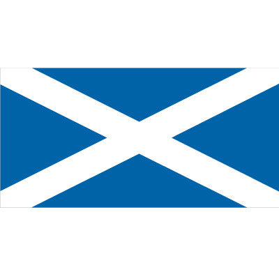 Scotland (St Andrew's Cross) Flag