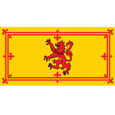 Royal Standard Scotland (Rampant Lion)