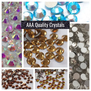 Diamante Crystals - AAA Quality