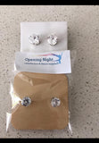 Earrings - Diamante Stud