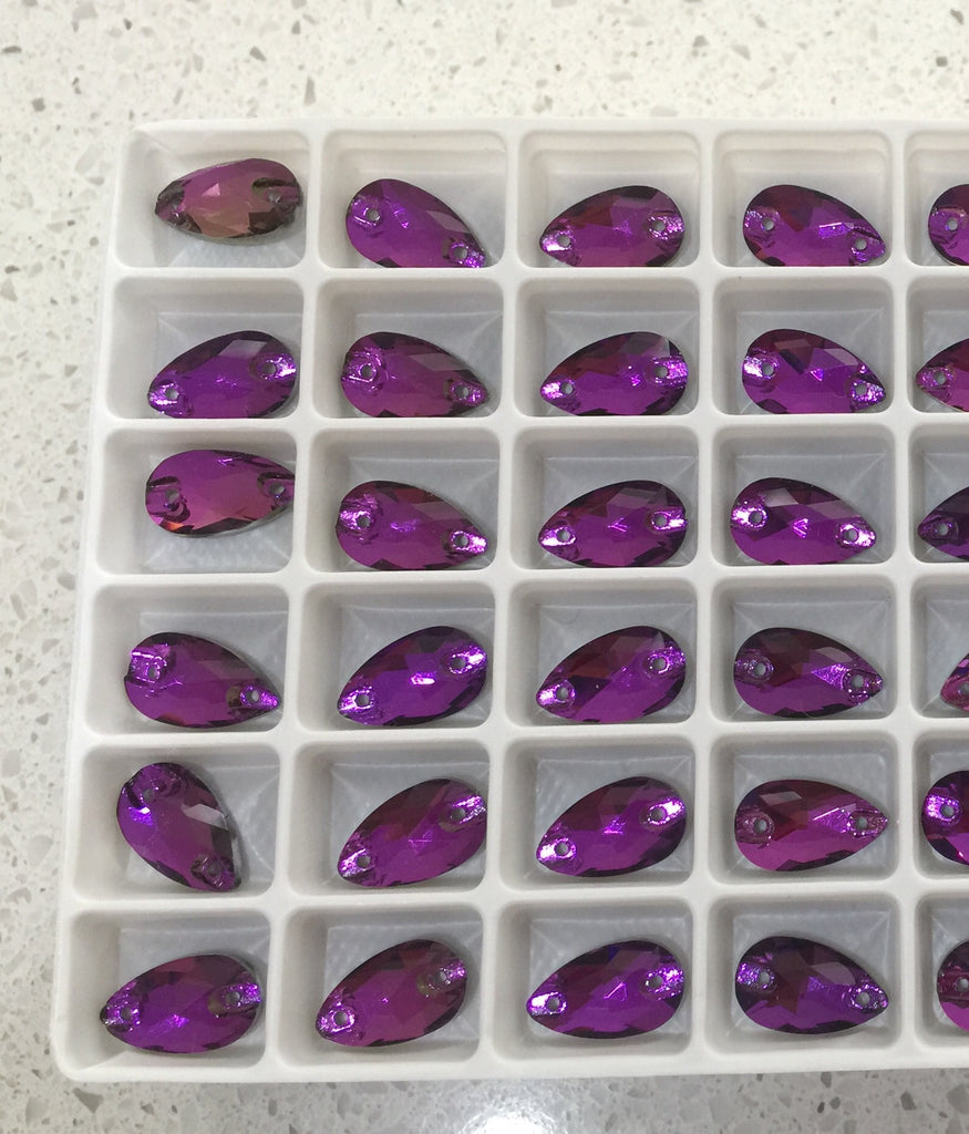 Drop, 12mm (Amethyst) Glass