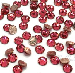 Swarovski® Hotfix Crystals, Indian Pink