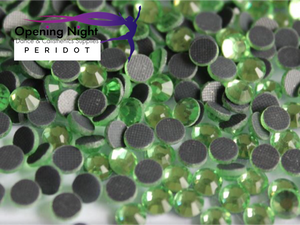 Peridot Green - Hotfix Diamante DMC Crystals