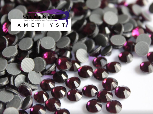 Amethyst - Hotfix Diamante DMC Crystals