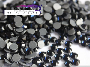 Montana Blue - Hotfix Diamante DMC Crystals
