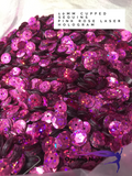 Sequins Cupped - Pink Rose Laser Hologram