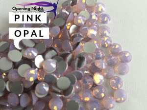 Pink Opal - AAA Non Hotfix Diamante Crystals